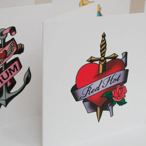 Temporary Tattoo cards