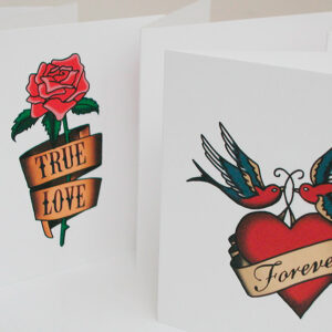 Tattoo card designs